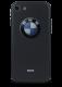 Чехол для iPhone 7 Принт рельеф (Карбон BMW)