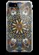 Чехол для iPhone 7 Beckberg Exotic (Синий узор)