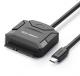 Ugreen адаптер USB Type-C 3.0 SATA / IDE